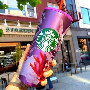 Starbucks 2021 Purple Reef Stainless Venti Cup